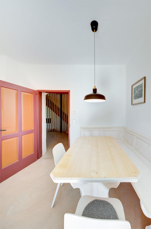 Ferienhaus Maar1 am Goldberg - gemütliche Eckbank in der Küche